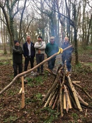 Community Woodland - break time
