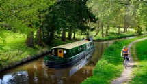 Brecon and Monmouthshire Canal bordering Gilestone Farm